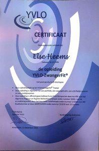 Diploma YVLO